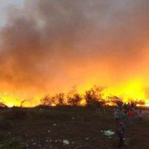 Para evitar que bomberos queden rebasados, Dávila anuncia apoyo