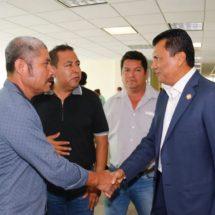 Coordina Diputado Samuel Gurrión acciones de gestión con autoridades municipales