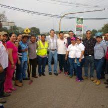 """Más de 800 tuxtepecanos participan en 1er día de """"Limpiemos los bulevares"""""""