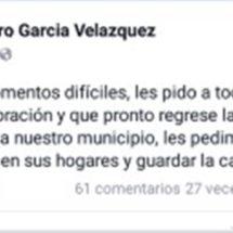 Habitantes de Jalapa de Díaz exigen a Arturo García Velázquez que refuerce la seguridad en lugar de orar