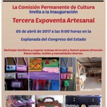 Recibe Congreso local Expoventa Artesanal a beneficio de personas reclusas