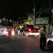 ACCIONA SSPO OPERATIVO ALCOHOLÍMETRO EN LA CAPITAL PARA PREVENIR ACCIDENTES VIALES