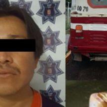POLICÍA ESTATAL DETIENE A SUJETO POR ROBO DE GASOLINA EN EL ISTMO DE TEHUANTEPEC