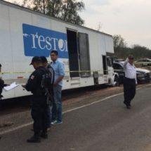 POLICÍAS ESTATALES DETIENEN AL PRESUNTO ASALTANTE DE UN CAMIÓN EN HUAJUAPAN