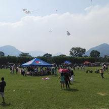 Toma vuelo el Festival de Papalotes de Monte Blanco