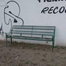Andador peatonal, lugar inseguro y abandonado en el Istmo