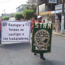 Telefonistas van a huelga contra TELMEX el 12 de mayo