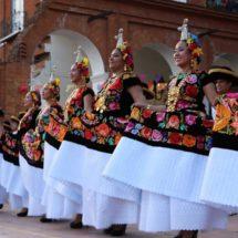 Delegación tehuana, lista para Guelaguetza