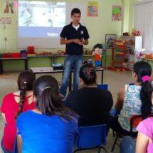Promueve Alejandro López Jarquín talleres en escuelas de Xoxocotlán para prevenir Bullying
