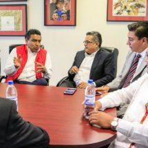 Reciben Diputados Plan Estatal de Desarrollo de Oaxaca