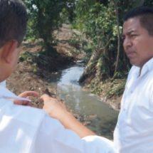 Supervisa Dávila trabajos del Programa  de Limpieza de Arroyos y Canales Pluviales