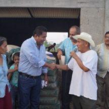 Programa Mejora llega a beneficiar a colonia El Esfuerzo