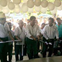 Irineo Molina comprometido con la sociedad, respalda apoyo en la cuenca