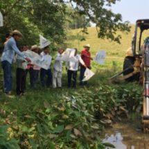 Arranca Gobierno de Bautista Dávila construcción de 80 ollas de agua