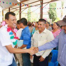Gira Legislativa del Dip Samuel Gurrión llega a San Francisco Tlapancingo, municipio colindante con el estado de Guerrero