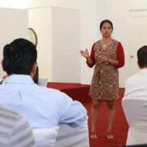 """""""Trabaja PRD para darle a Oaxaca una reforma electoral  que contribuya a la democracia"""": Diputada Paola Gutiérrez"""