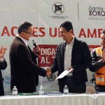 """Gobierno de Xoxocotlán recibe certificación por ser un """"Espacio Libre de Tabaco"""""""