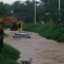 Lluvias dejan daños en el Istmo