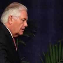 Cancela Tillerson viaje a México; atenderá crisis de Catar
