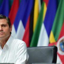Respeto a principios de la OEA ayudará a superar desafíos en América: EPN