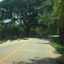 Aún hay efectaciones por las lluvias en carretera federal 125, tramo Pinotepa-Zacatepec