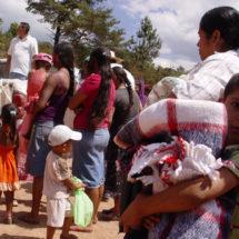 Más de 70 desplazados en San Juan Mazatlán