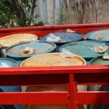 Suman más de 7 mil litros de combustible confiscado a «huachicoleros» en la Cañada