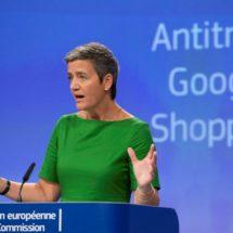 UE impone histórica multa de 2 mil 700 mdd a Google