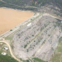 Desfogan presa de Jalapa del Marqués ante depresión tropical en Oaxaca