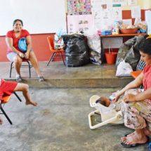 Sin colchonetas y sin alimentos, albergue de Juchitán, Oaxaca