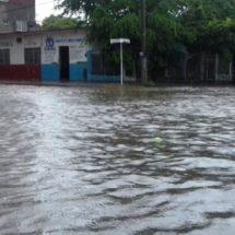 50 colonias afectadas por lluvias en Salina Cruz