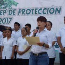 Llama Anilú Delfín Rodríguez a no continuar destruyendo el medio ambiente