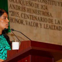 Urgente visibilizar violencia de género y garantizar inclusión de las mujeres: Eufrosina Cruz