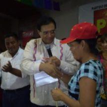 Instalan nuevo consejo municipal del Partido del Trabajo