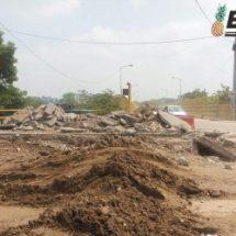 Aún incierta la terminación de las obras en el muro boulevard