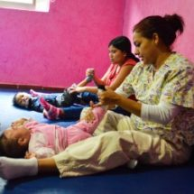 PADRES CADA VEZ MAS PARTICIPATIVOS  EN TERAPIAS INFANTILES: DIF TUXTEPEC