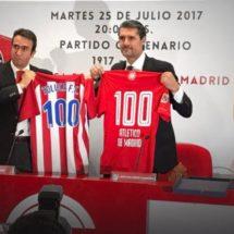 TOLUCA VS ATLÉTICO DE MADRID, PARTIDO CENTENARIO