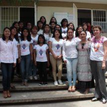 Entrega UTVCO biblioteca infantil en primaria de San Marcos Tlapazola
