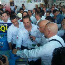 Llega a Tuxtepec el secretario de Sedesol y el Gobernador de Oaxaca