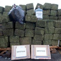 En 6 meses México incautó 19 toneladas de droga