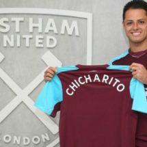 Chicharito se pone la del West Ham por tres años