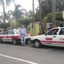 Dejan taxistas el servicio nocturno