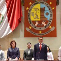Inicia 63 Legislatura de Oaxaca Segundo Periodo Ordinario de Sesiones