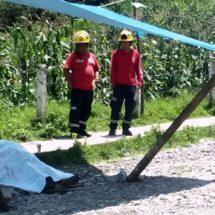 Muere una niña en la vía pública