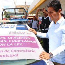 En Xoxocotlán no toleraremos actos de corrupción o que infrinjan la ley: Alejandro López Jarquín