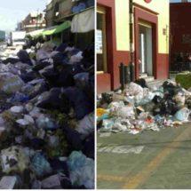 Inunda basura centro histórico de Oaxaca