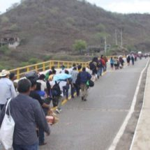 Reabren el puente de Tequisistlán, Oaxaca