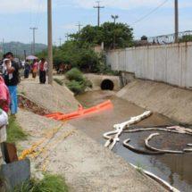 Avanza limpieza de zonas contaminadas en el Istmo, Oaxaca