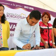 Signa López Jarquín acuerdo para el desarrollo sustentable y sostenible en Xoxocotlán