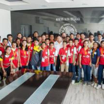 Gestionan apoyos deportivos para niños y jóvenes en Salina Cruz
